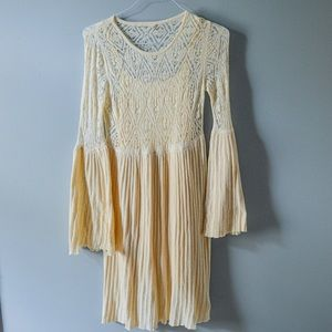 "Anthropologie Dresses - Anthro ""Serena"" Bell Sleeve Sweater Dress"
